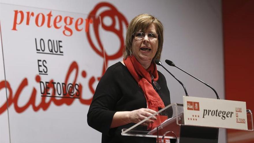 El TC censura que se castigara a una diputada socialista de Asamblea Madrid