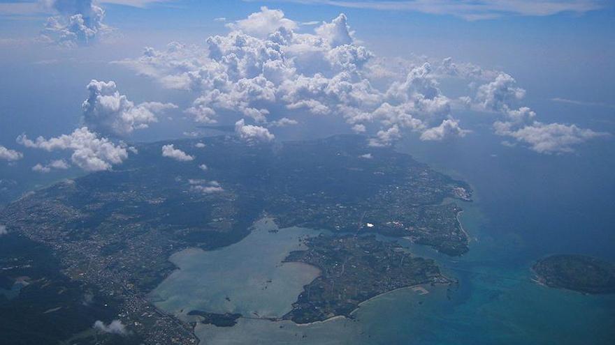 Okinawa es una pequeña isla del archipiélago nipón.