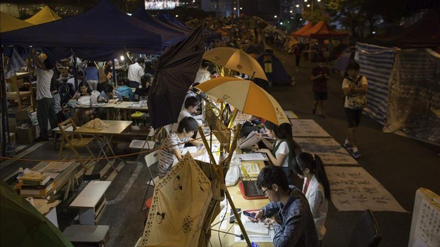 Occupy Central pide la disolución del Consejo Legislativo de Hong Kong