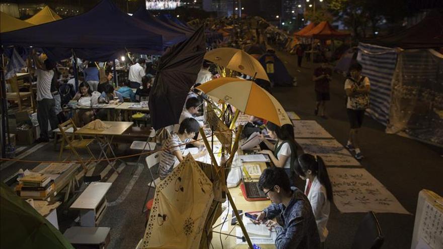 Occupy Central pide la disolución del Consejo Legislativo de Hong Kong