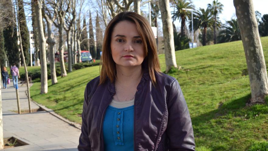 Mary Luz Avendaño en una imagen tomada en España © Amnistía Internacional