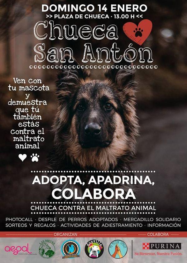 Cartel 7ª edición de Chueca Loves San Antón