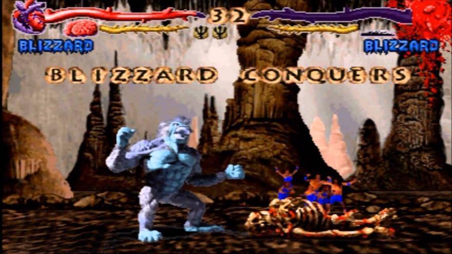 Primal Rage para Mega Drive