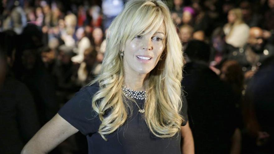 Imagen de archivo de Dina Lohan, madre de la actriz Lindsay Loha.