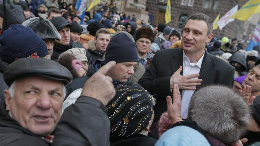 "Vitali Klitschkó dice que ""hace un año nos independizamos por fin de Rusia"""