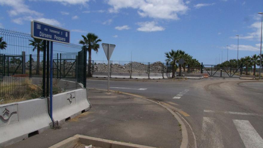 Entorno de la Dársena Pesquera del puerto de Santa Cruz de Tenerife