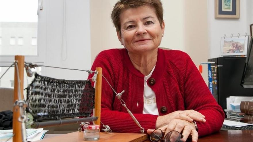 La geógrafa de la ULL María Victoria Marzol