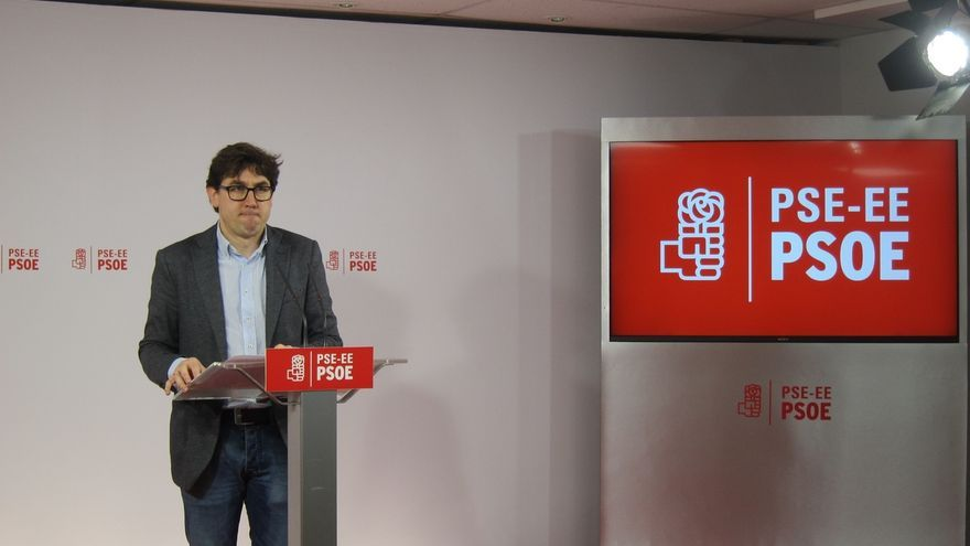 Eneko Andueza, único precandidato a la Secretaría General del PSE-EE de Gipuzkoa