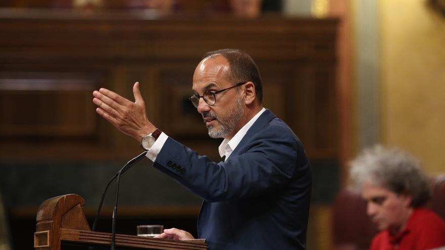 """El portavoz del PDeCAT admite que no va a ser """"fácil"""" hacer el referéndum, pero dice que el compromiso se mantiene"""