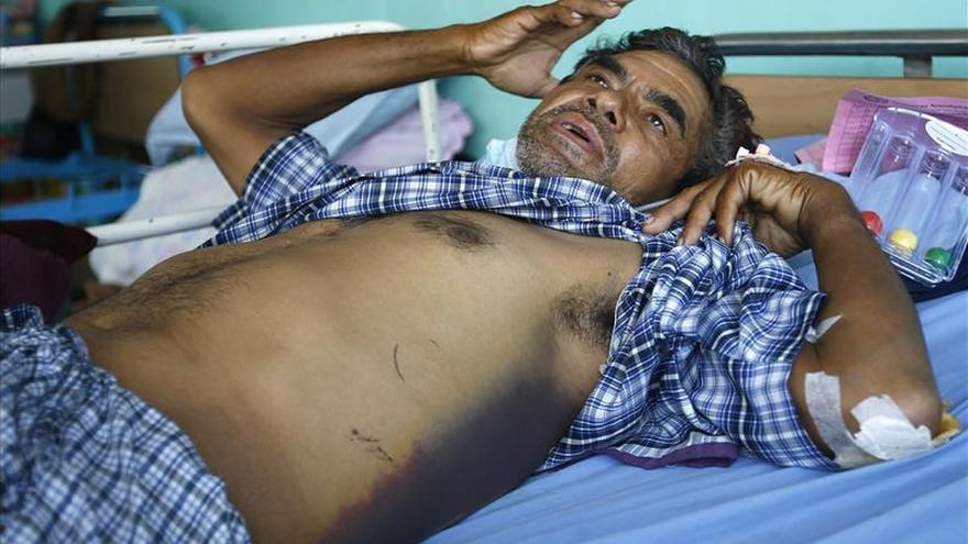 La OMS señala que un 95 por ciento de los centros de salud de Nepal quedaron muy dañados