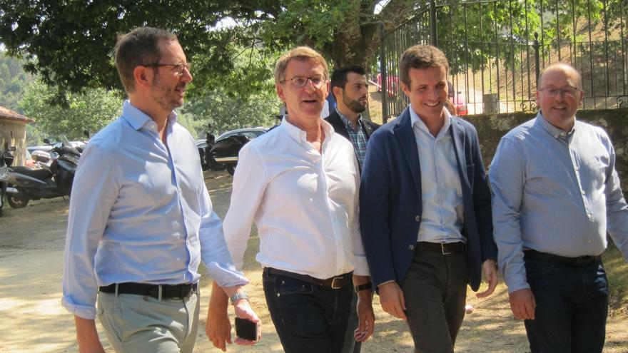 Casado abrirá de nuevo el curso en Ávila y Málaga y acompañará también a Feijóo en el tradicional arranque en Galicia