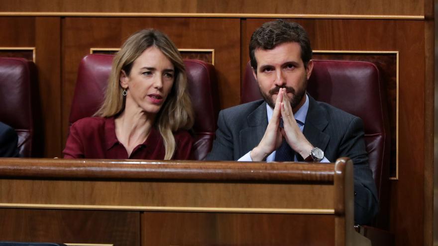 """Álvarez de Toledo llama """"usurpador"""" a Torra y pregunta a Sánchez si cancelará su cita con este """"delincuente de a pie"""""""