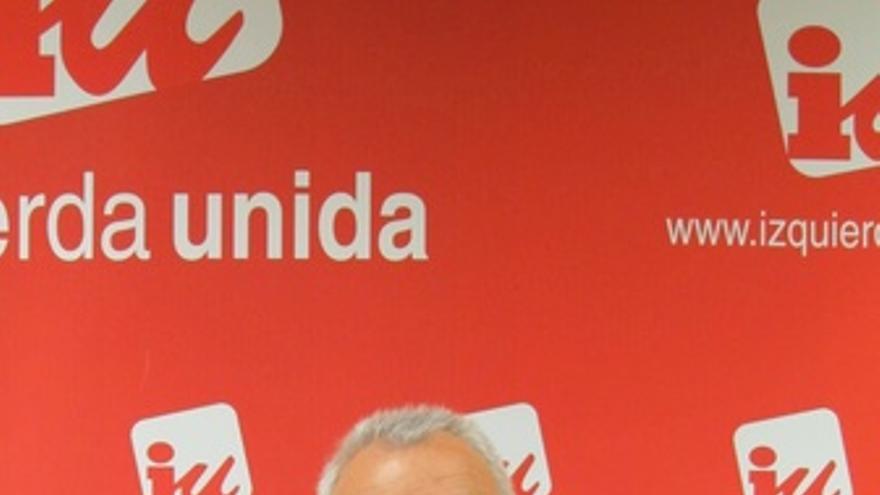 El candidato de IU a la Presidencia, Cayo Lara. (EUROPA PRESS)