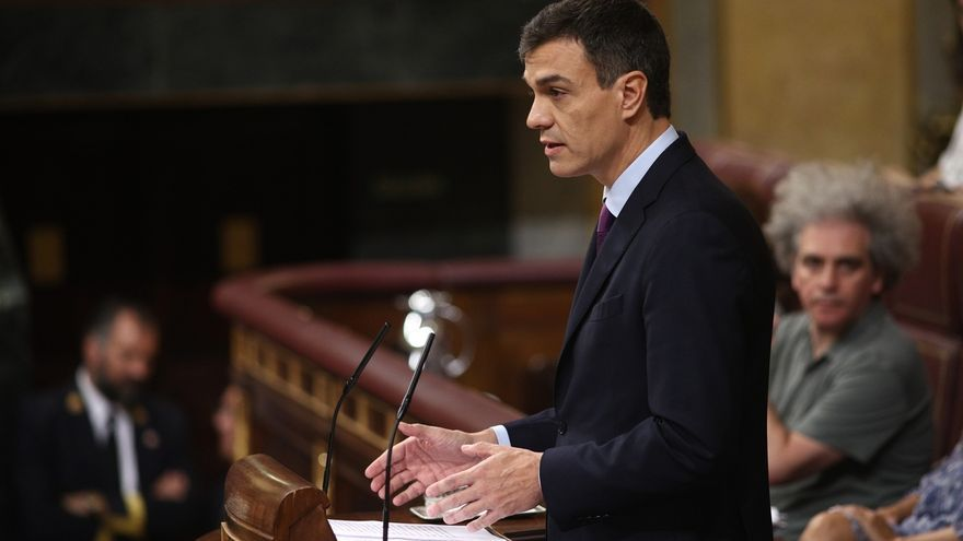 Pedro Sánchez se lamenta de la falta de eficiencia energética del Palacio de la Moncloa