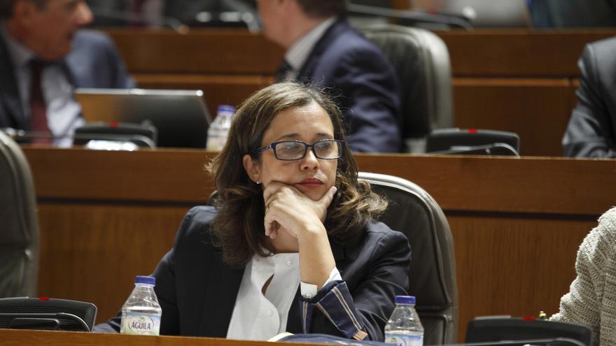 La portavoz del Grupo Popular, Marián Orós.