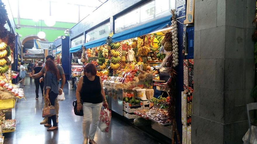 Interior del Mercado de Vegueta.
