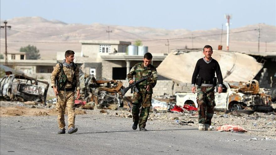 Al menos 34 yihadistas mueren en bombardeos de la coalición en Mosul