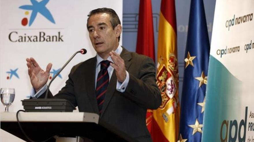 El director general de CaixaBank, Juan Antonio Alcaraz.