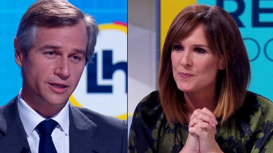 González Terol (PP) y Mónica López (TVE)