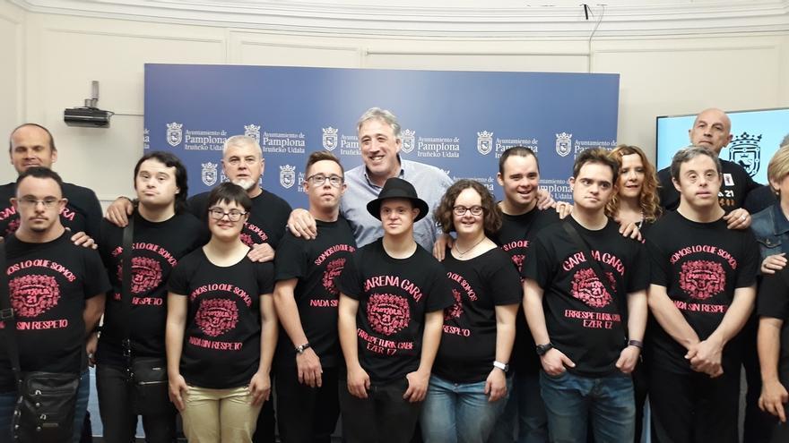 El grupo Motxila 21 lanzará el chupinazo de Sanfermines 2018