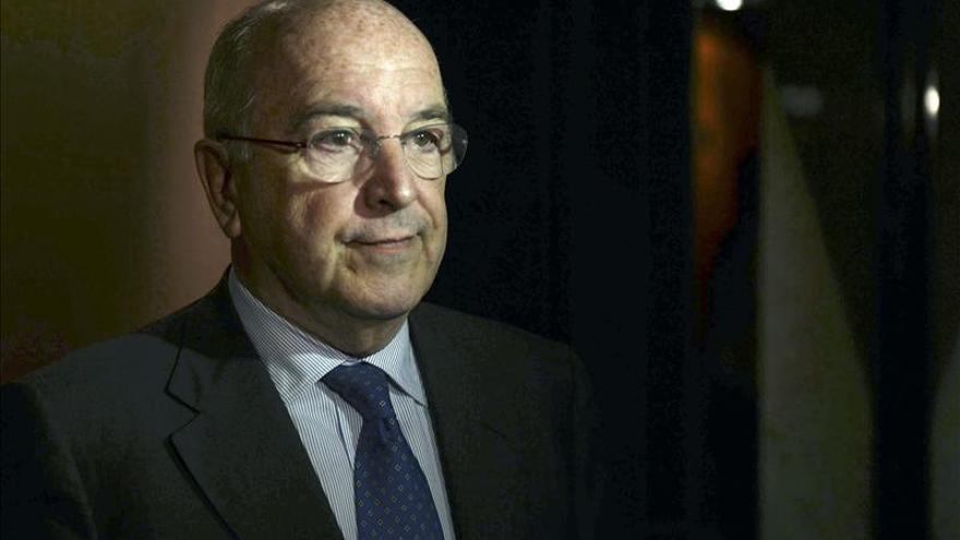 El comisario de Asuntos Económicos de la UE, Joaquín Almunia