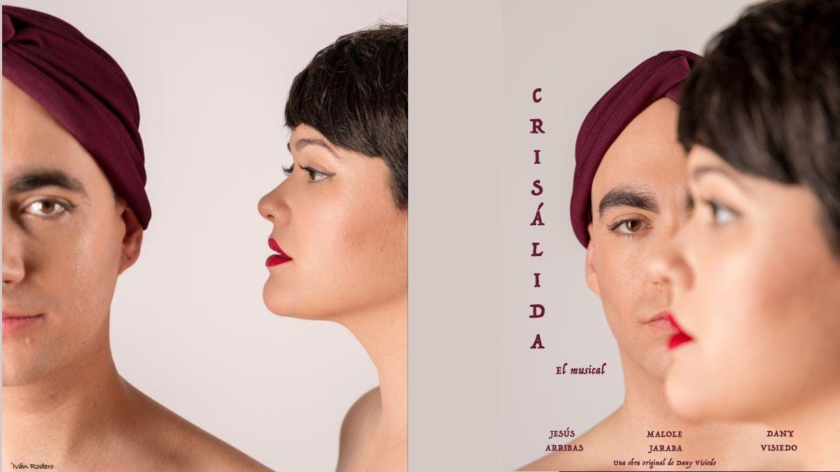 Cartel de la obra 'Crisálida, el musical' | IVÁN RODERO