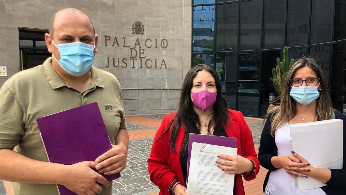 Podemos Canarias pone en manos de la Fiscalía el caso Másteres de Los Realejos
