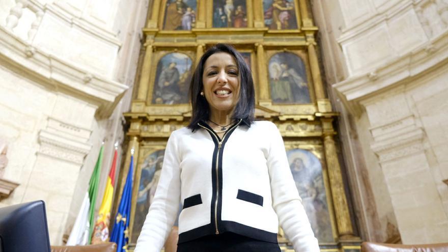 Marta Bosquets es la nueva presidenta del Parlamento Andaluz /Foto: Luis Serrano