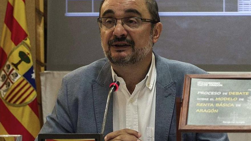 El presidente de Aragón pide una reunión con el Papa para solucionar el conflicto bienes con Cataluña