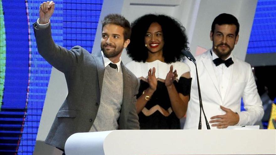 Alborán, Sanz y Ellie Goulding, triple empate en los Premios 40 Principales