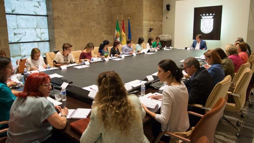 Reunión de la Comisión Permanente para la Prevención y Erradicación de la Violencia de Género / Junta