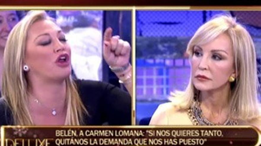 Belén Esteban, Matamoros y Mila Ximénez, condenados por insultar a Carmen Lomana