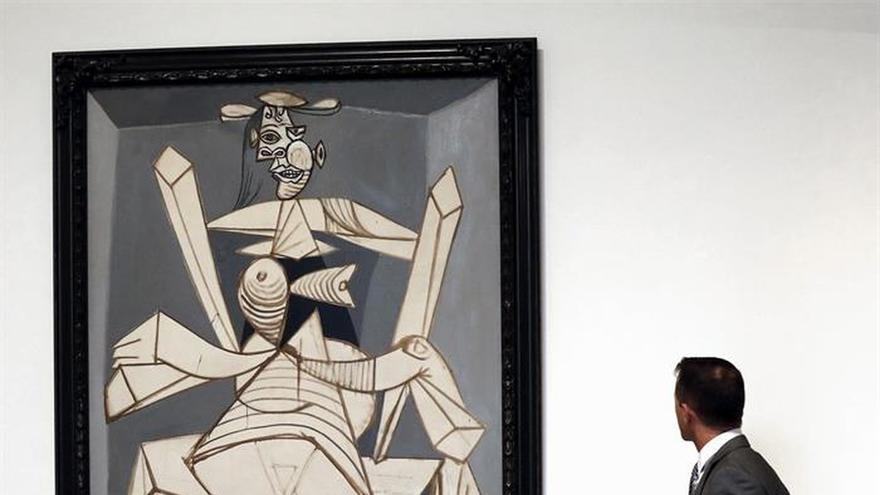 """El Bellas Artes de Bilbao exhibe un """"perturbador"""" retrato de Picasso"""