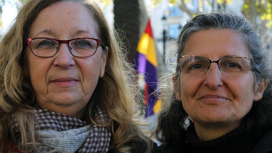 María Luisa Hernández y Beatriz Alonso. | JUAN MIGUEL BAQUERO