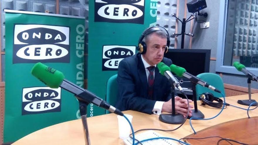 """Urkullu dice de el partido que gobierne en el Estado se equivocará """"si piensa que solo tiene un problema en Cataluña"""""""
