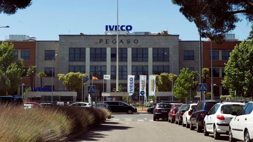 Vista de la sede de la empresa Iveco en San Fernando de Henares.