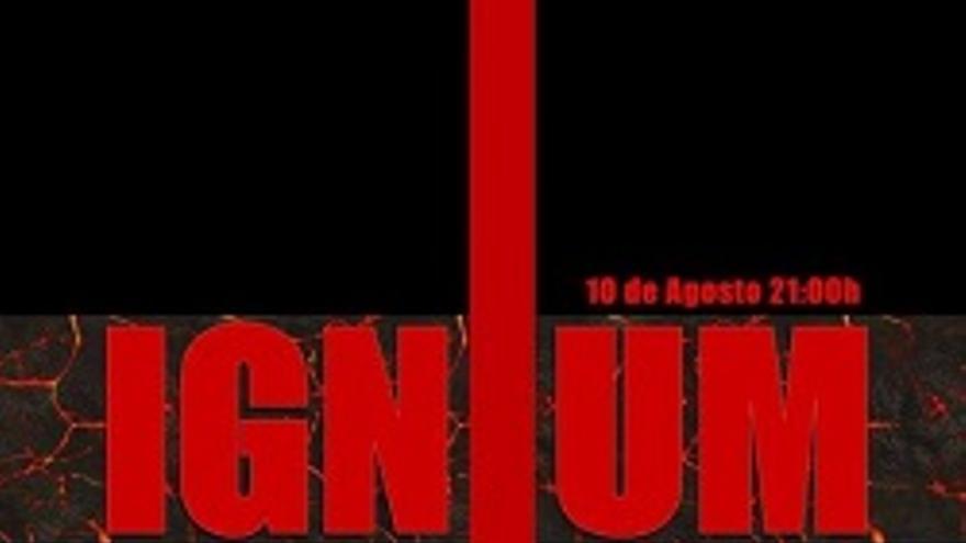 Cartel de la exposición de Jorge Miranda.