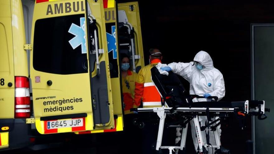 Ambulancia del servicio de emergencias médicas de la Generalitat