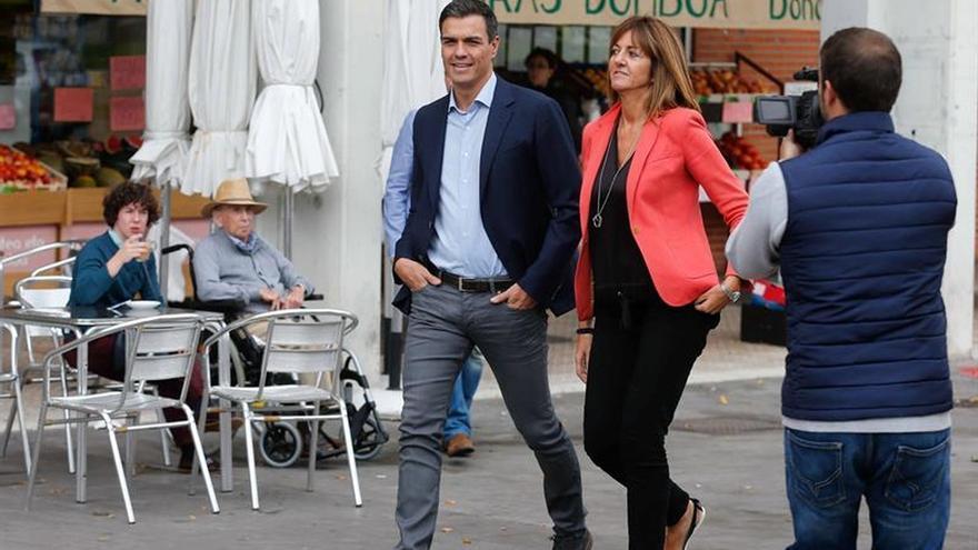 Sánchez: El fin de los vetos cruzados de C's y Podemos será el principio del cambio