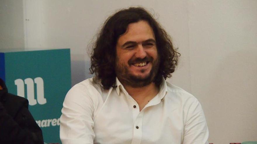 Antón Sánchez, portavoz de Anova y viceportavoz parlamentario de En Marea