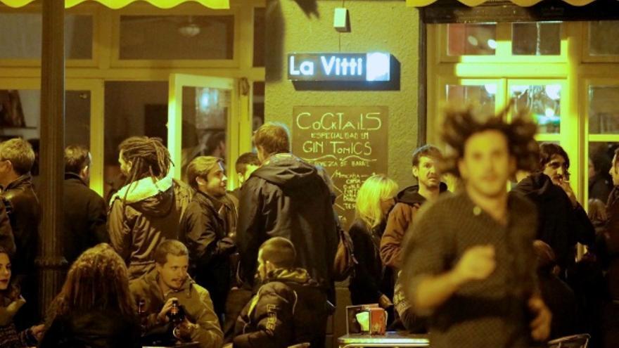 Terraza de 'La Vitti', uno d elos bares que organizan Abacu Week