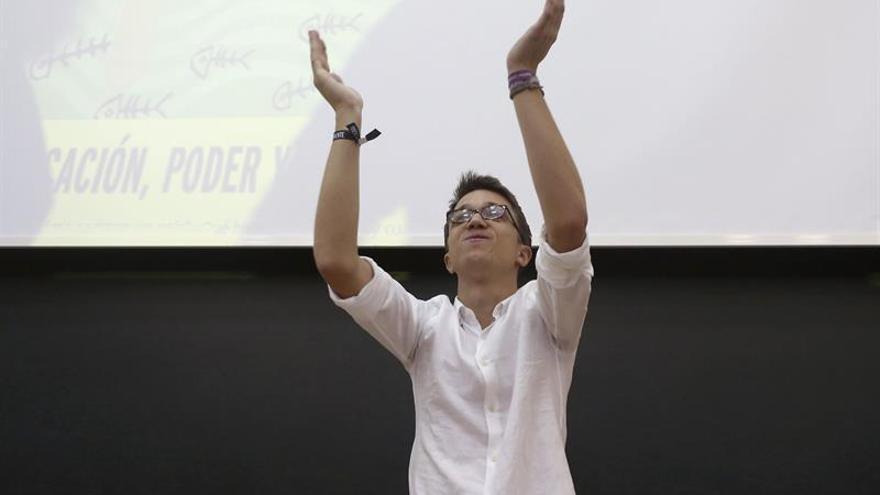 "Errejón defiende un Podemos que sea ""motor de influencia"" para otros partidos"