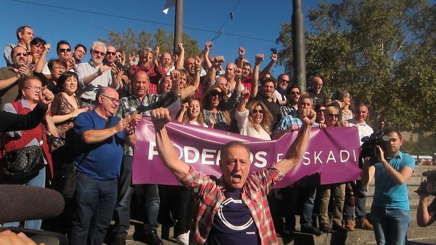 """Uriarte y 19 miembros de la Dirección de Podemos Euskadi dimiten y denuncian la """"política aparatera"""" del partido"""