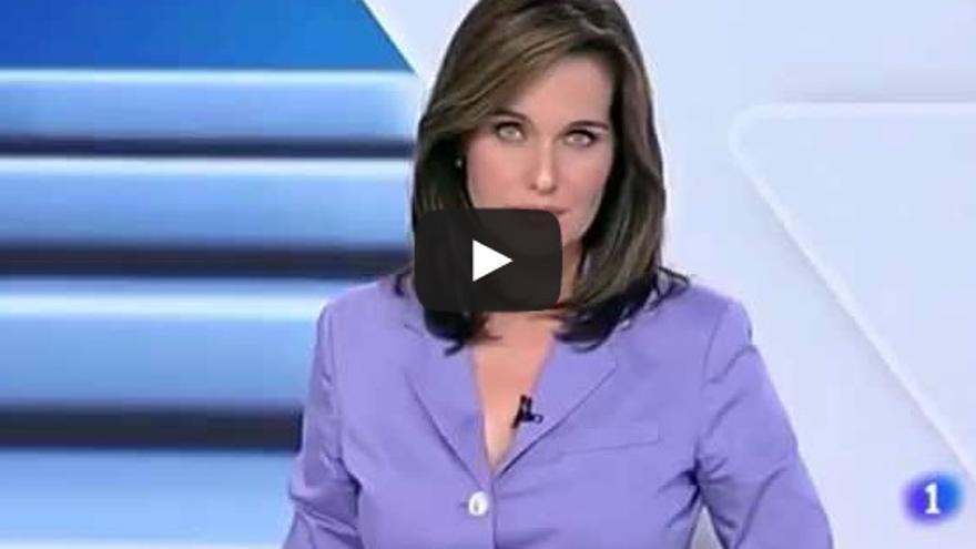 Captura de la emisión del Telediario del 30 de agosto