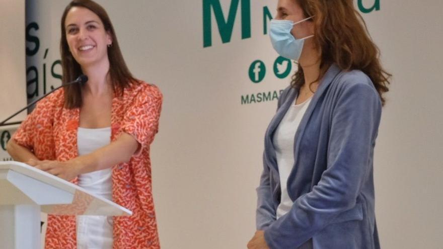 Archivo - Las líderes de Más Madrid ciudad y región, Rita Maestre y Mónica García, respectivamente.