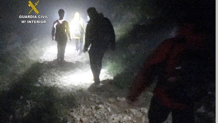 Rescatados tres senderistas extraviados en la zona del Butrón de Fuente Dé, en Picos de Europa