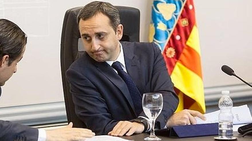 César Sánchez, presidente de la Diputación de Alicante y alcalde de Calp.