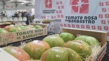 La Asociación de Hortelanos Tradicionales y la marca Tomate Rosa premiadas en la Feria Regional de Barbastro