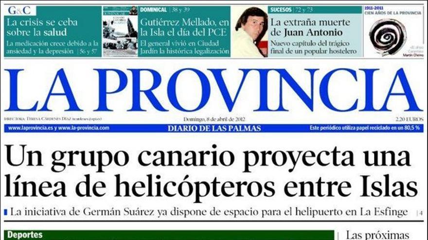 De las portadas del día (08/04/2012) #3