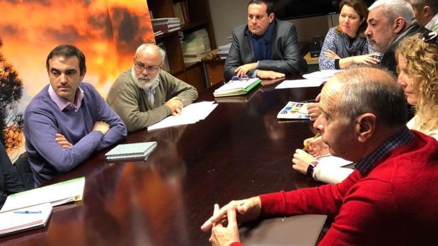 Reunión de la Mesa de Gastronomía y Cultura de La Palma.